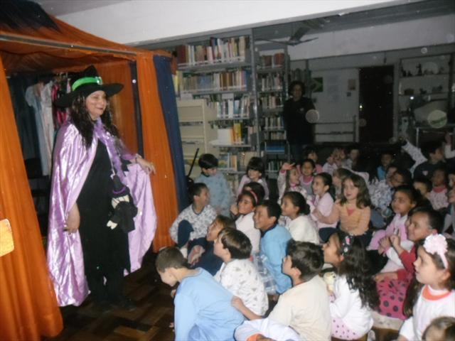 Festa do Pijama com contação de história