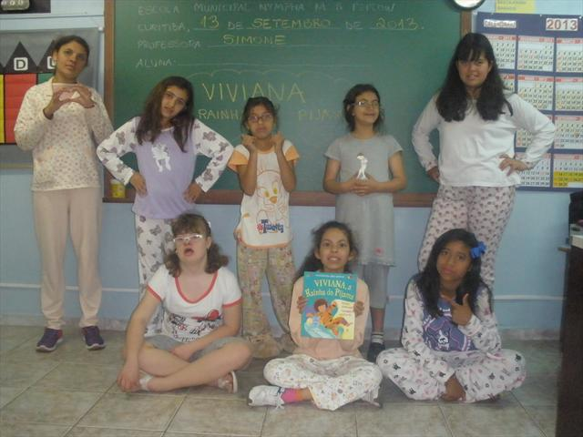 Viviana, a rainha do pijama