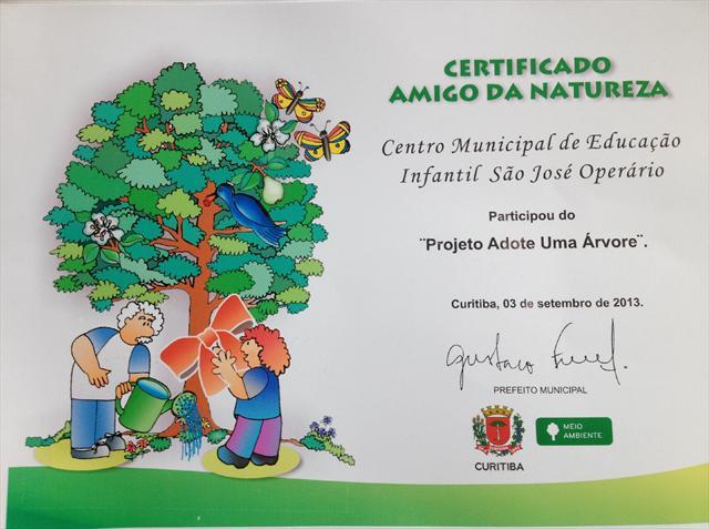 Projeto Adote Uma Árvore