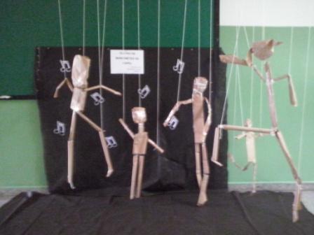 Teatro de marionetes(profª Loanda)