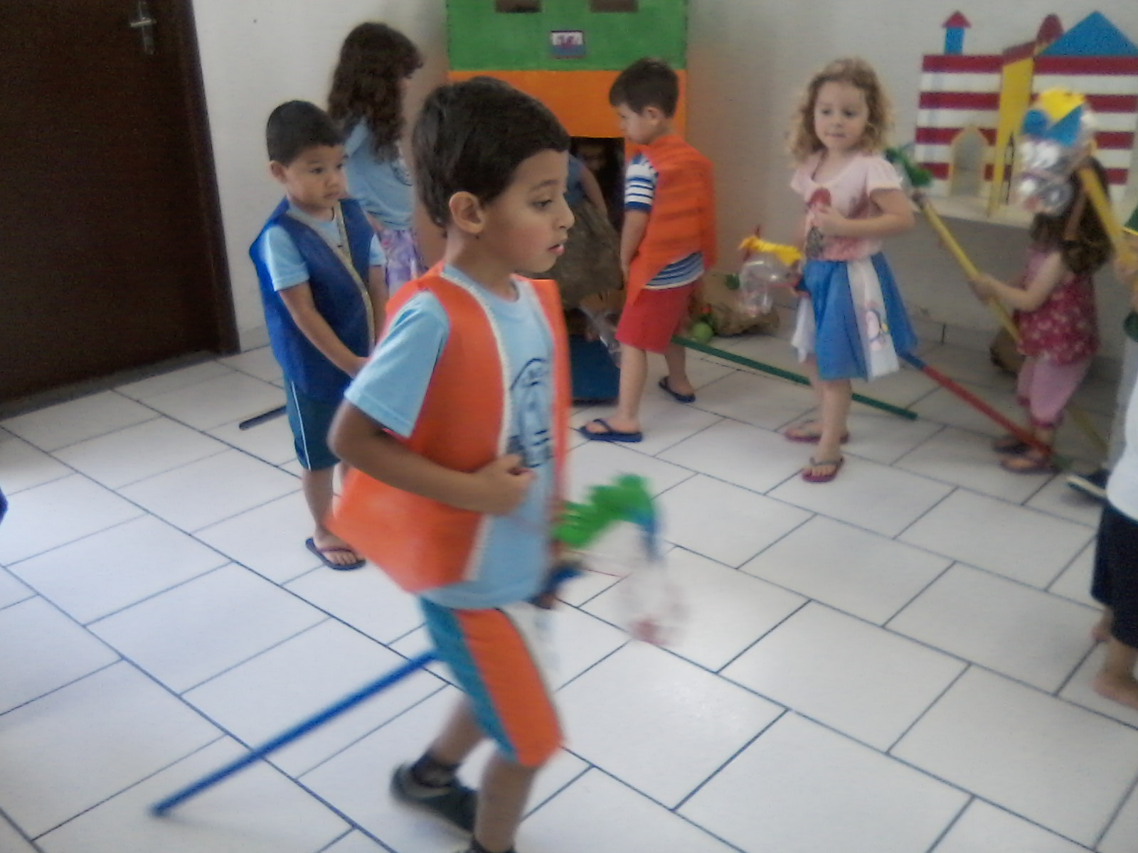 Semana da Criança - Cantos de Atividades Diversificadas - CMEI Ângela Dellatre