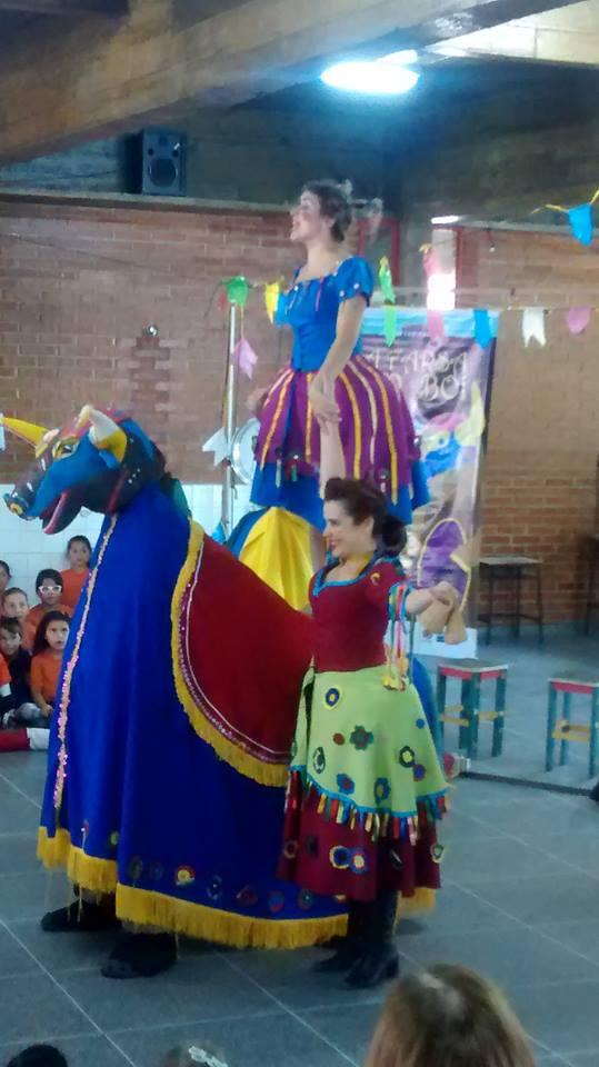 Teatro a Farsa do Boi inicia as comemorações do Di