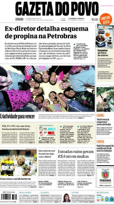 Reportagem da Gazeta do Povo