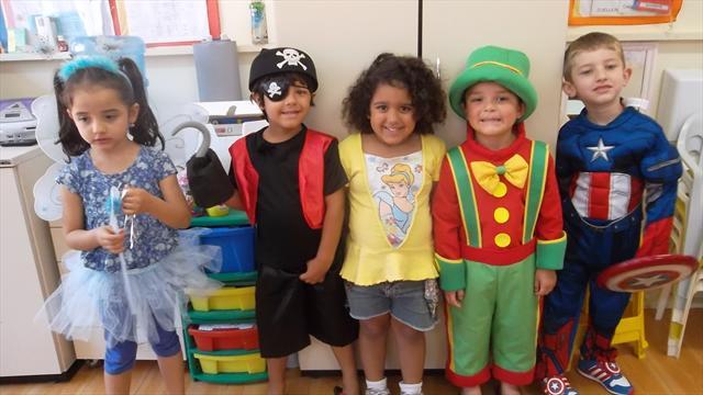 Semana da criança de 06 à 10 de outubro de 2014, com muita diversão!