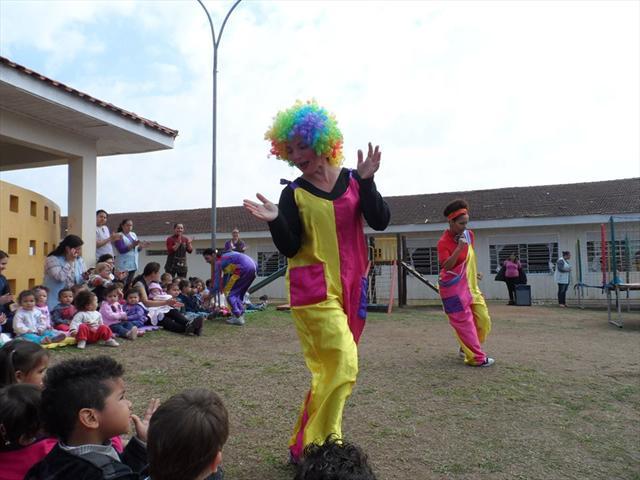 A Semana de 06 à 10 de outubro teve muita alegria, diversão e prazer para as crianças do CMEI Novo Horizonte