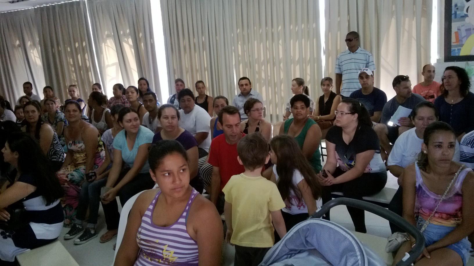 Integração com as famílias 2014 - 1