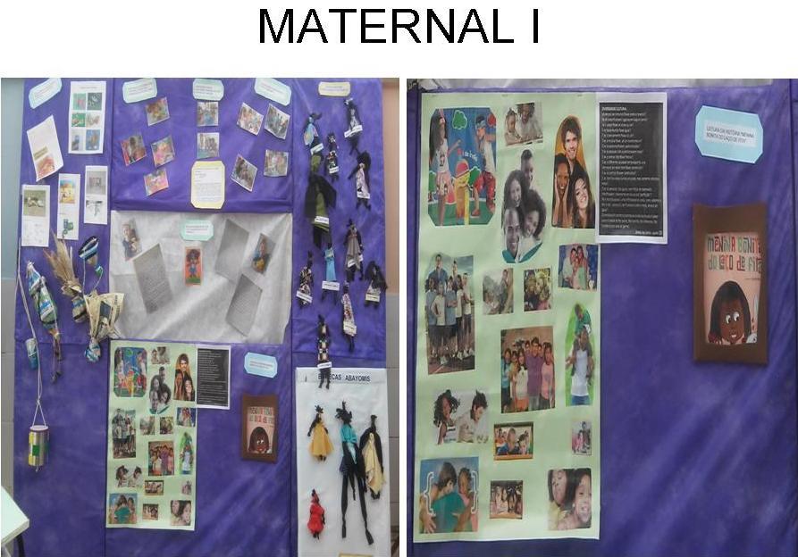 Maternal I - Mostra de trabalhos
