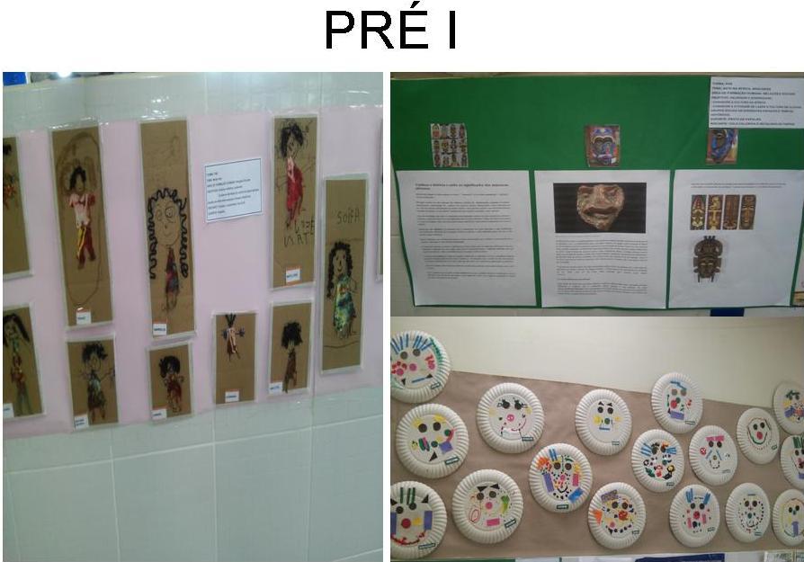 Pré I - Mostra de trabalhos