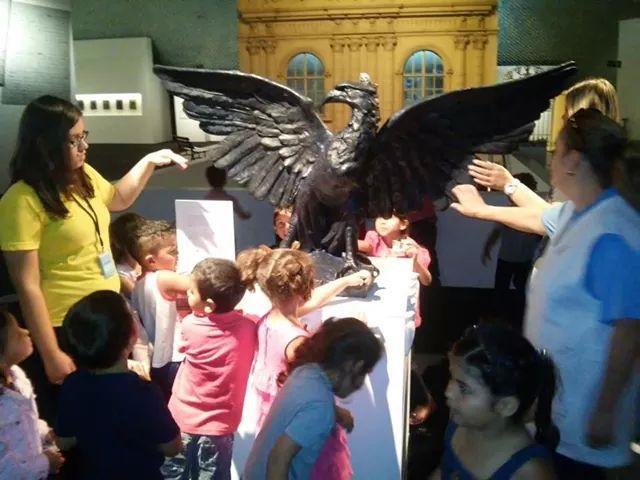 Visita do CMEI Jardim Aliança ao Museu Oscar Nieme
