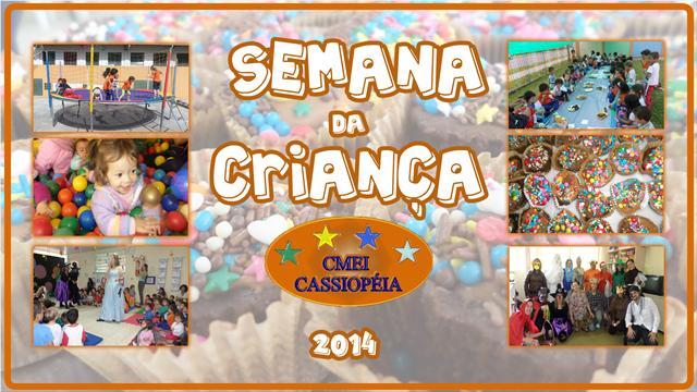 Em comemoração ao dia da criança, como é feito todo ano, o CMEI Cassiopéia organizou a SEMANA DA CRIANÇA com atividade e brincadeiras para nossas crianças !