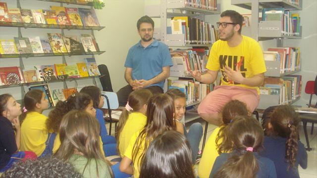 Roda de choro encerra programação do Outubro Cultural na escola Nympha