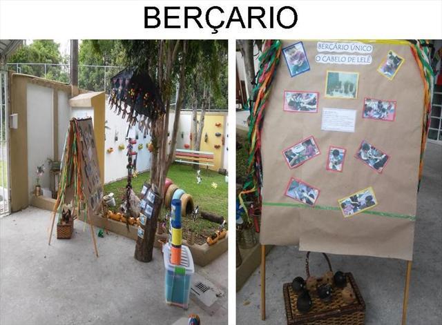 Berçário - Projeto Cultura Afro-brasileira na Educ