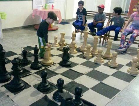 Projeto xadrez na escola.