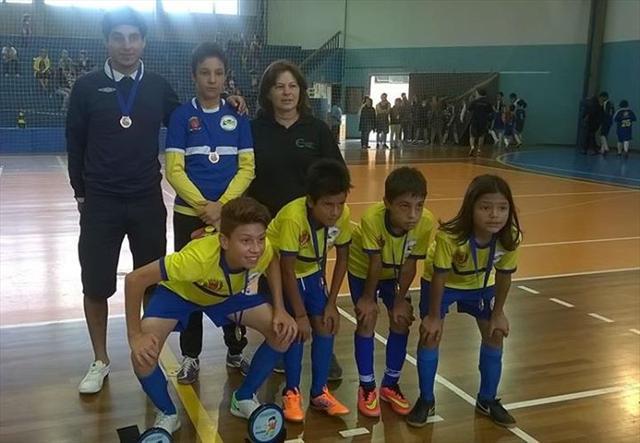 CEI Bela Vista do Paraíso conquista o 3º lugar na Copa Santa Mônica de Futsal
