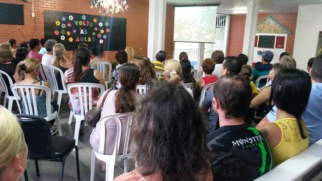 1ª Reunião de pais - 2014