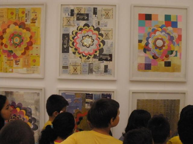 Aula de arte - círculos