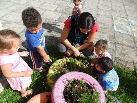 O acolhimento e a integração das crianças do CMEI Cantinho do Sol