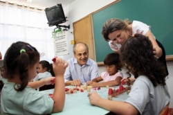 Início das aulas na Escola Municipal Araucária