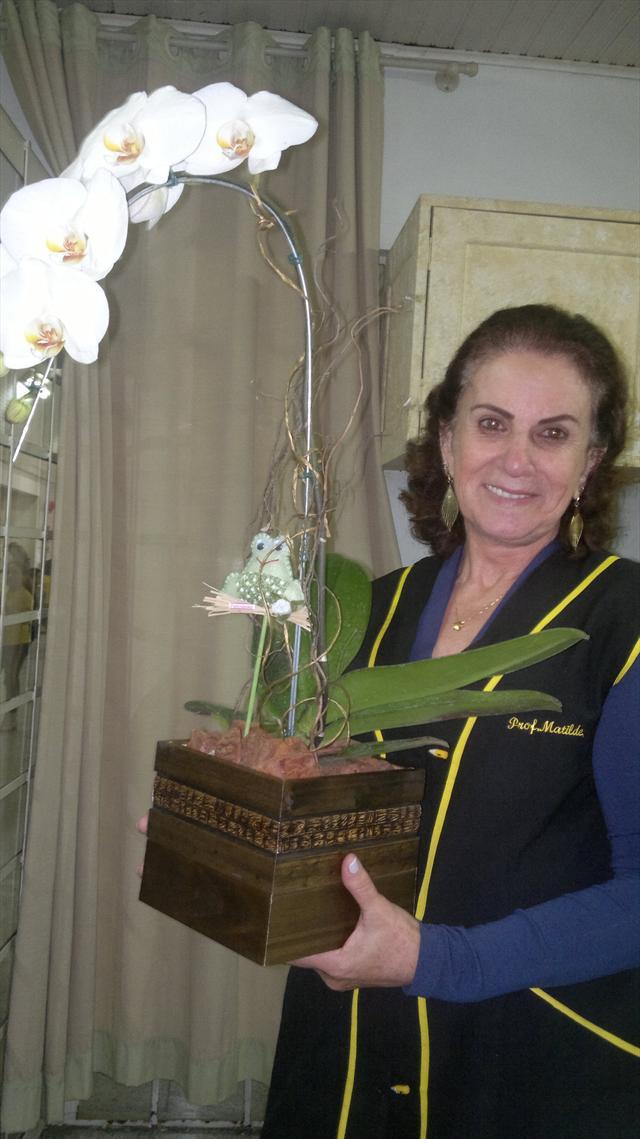 Profª Matilde é homenageada no CEI ERICO