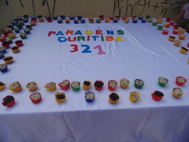 Homenagem do Cmei Cantinho do Sol para o aniversário de Curitiba
