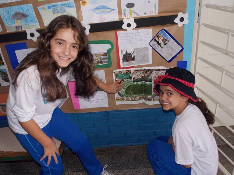 Exposição dos alunos do 3º ano
