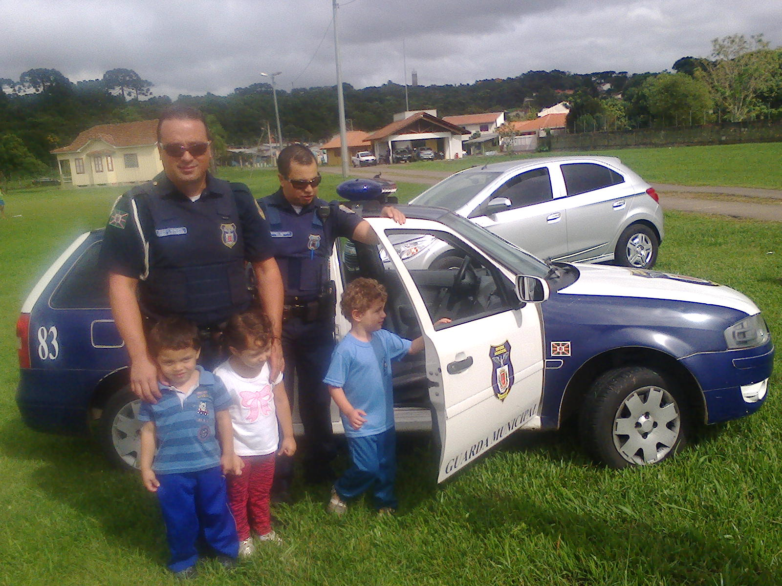 Homenagem do CMEI Santa Cândida à cidade de Curitiba 2