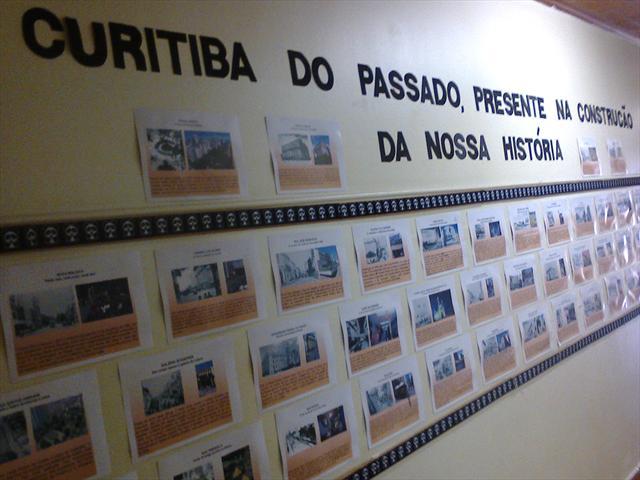 Homenagem do CMEI Santa Cândida à cidade de Curiti