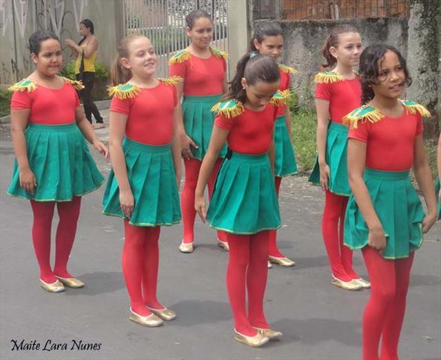 Corpo coreografico e fanfarra