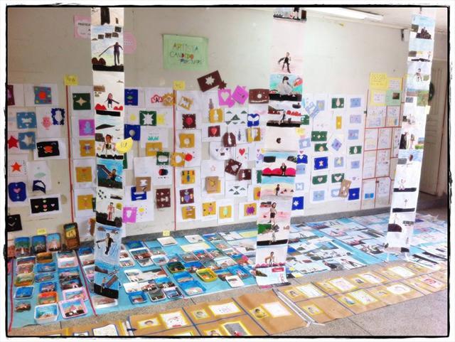 Práticas artísticas - Amostra dos alunos