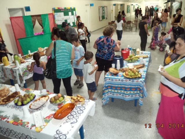 Dia da Família na Escola CEI David Carneiro.