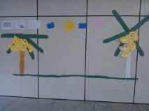 Mural  As bananeiras