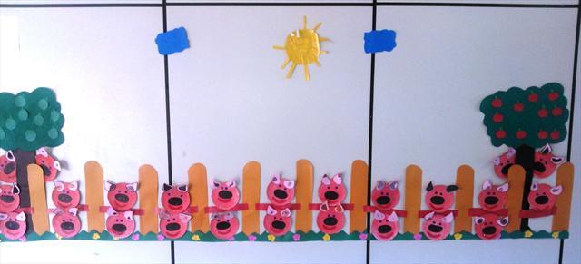 Mural Os porcos