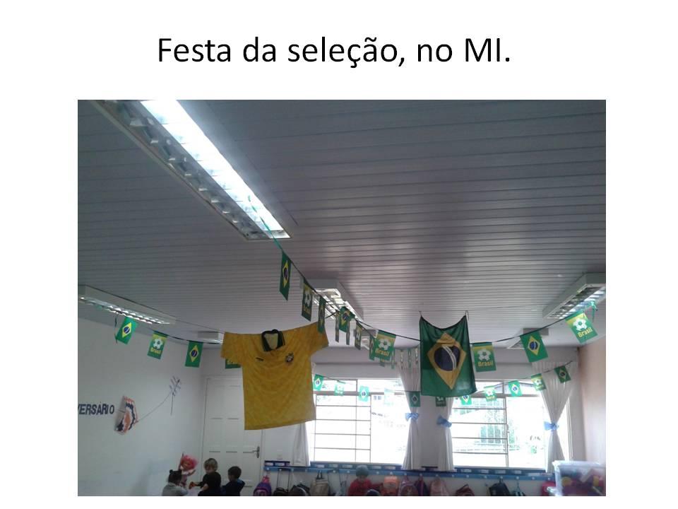 """Copa no Brasil """" Somos um só """""""