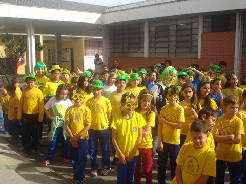 Momento Cívico - Brasil
