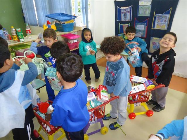 O brincar e a construção de significados - CMEIs do NRE Boa Vista