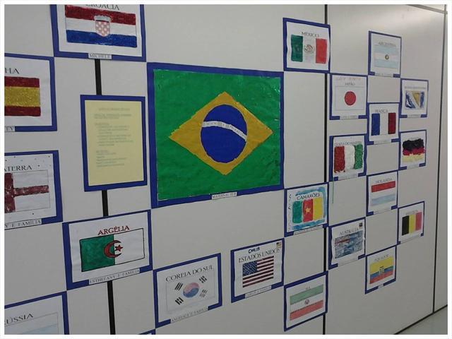 CMEI Jardim Aliança e a Copa do Mundo de 2014