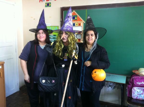 Atividades com a bruxa