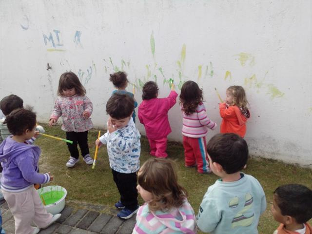 Pintando o Muro 1