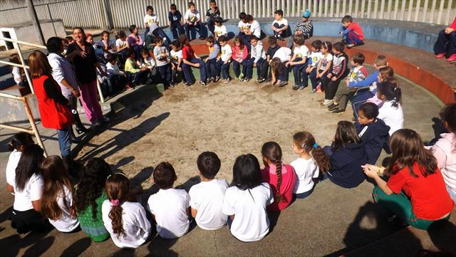 Projeto Paz promove integração entre as turmas da UEI Madre Antônia