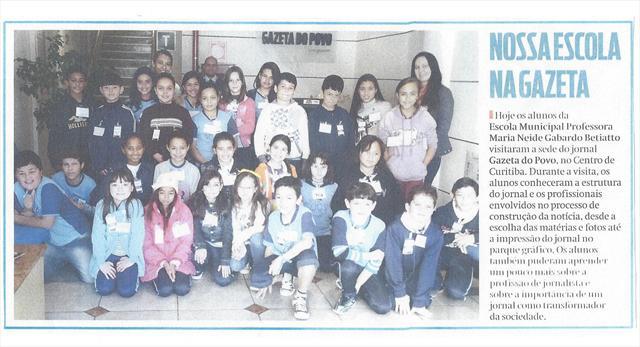 Nossa Escola na Gazeta
