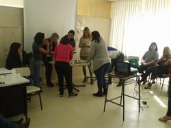 Coordenadores, professores e pedagogos do Portão se reunem na UEI.