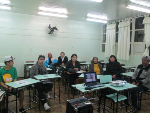 Projeto Ler e Pensar - EJA EM CEI Augusto C. Sandino