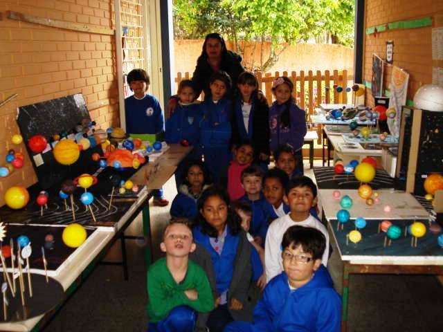 O Sistema Solar visto pelos estudantes do 3º  Ano.