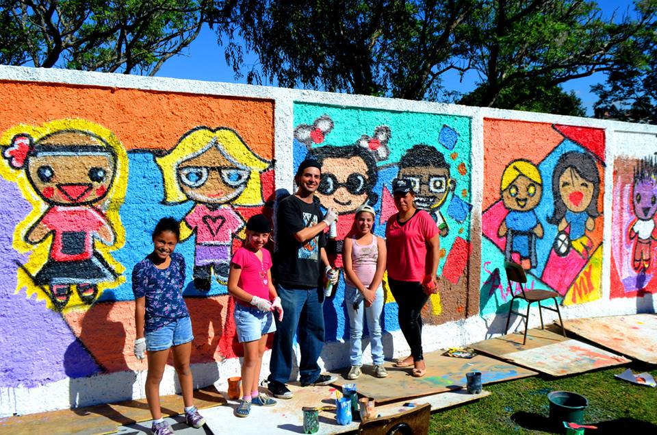 pintura no muro1