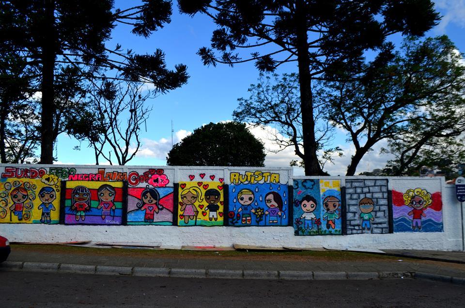 pintura no muro 7