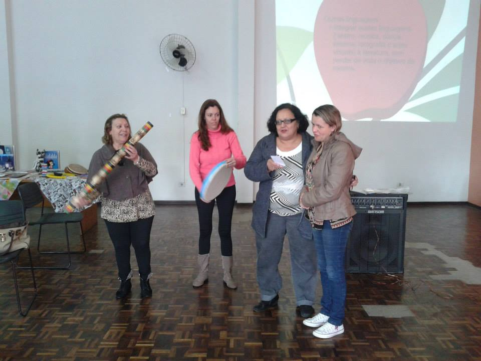 Encontro de Agentes de Leitura do Núcleo Regional de Educação Boa Vista