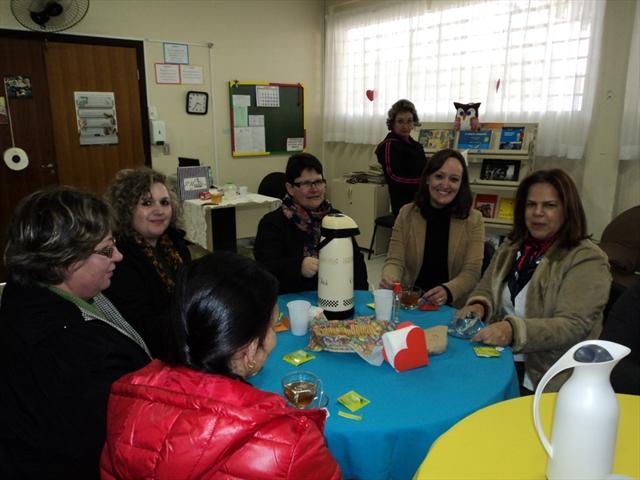 Chá Literário com as professoras da tarde