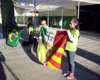 Bandeira escola