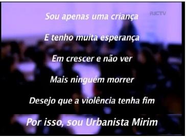 poesia - Projeto Urbanista Mirim