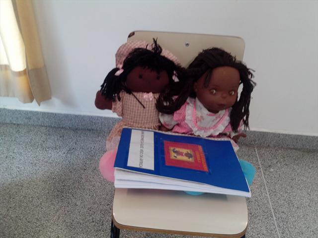 Uma boneca que veio da Africa